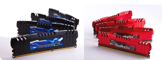 G.Skill RipjawsZ Quad-Channel DDR3