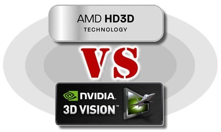 HD3D vs 3DVision