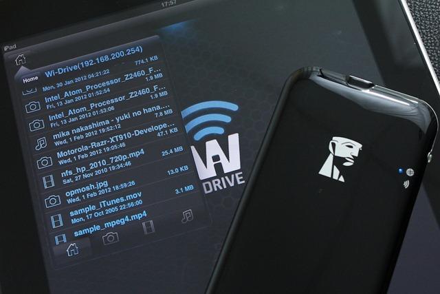 Review Kingston Wi-Drive 17