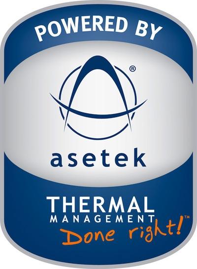 Powered by Asetek Logo