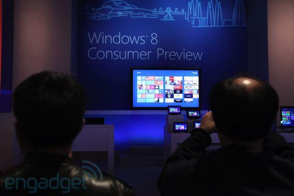 windows 8 oress event