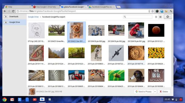 Chrome OS Google