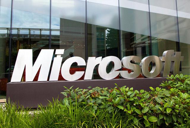 Microsoft campus large verge medium landscape