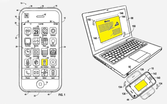 iPhone and Macbook NFC