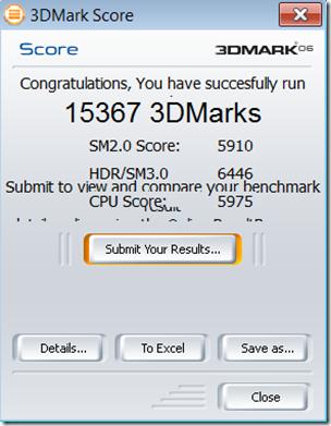 3D Mark 6