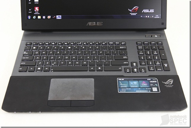 ASUS ROG G75VW Review N4G 3