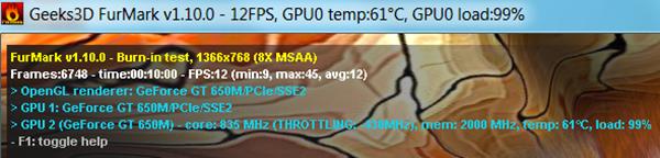Burn VGA