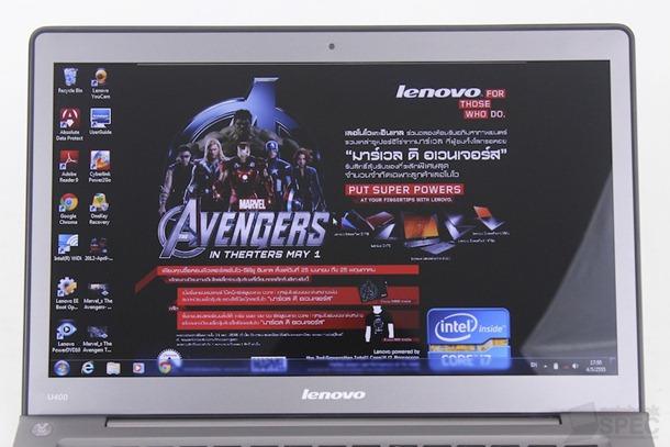Lenovo IdeaPad U400 Review 18
