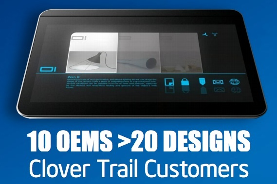 intel investor day clover trail tablet