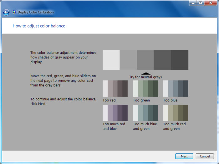 Color Calibration 11