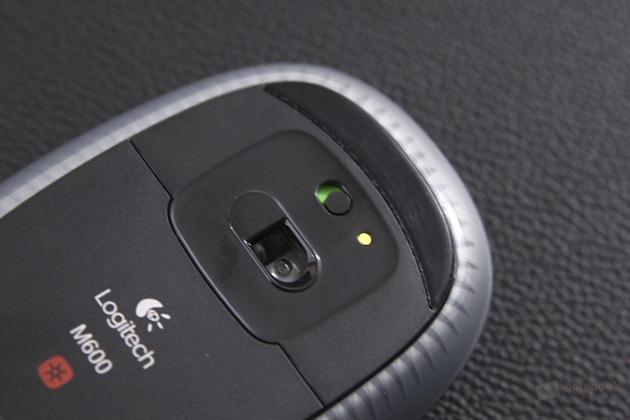 Logitech m600 Touch Mouse Review 7