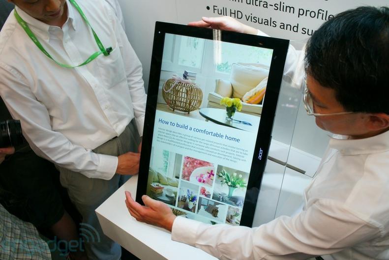 COMPUTEX 2012 : Acer ส่ง All-in-One ในรุ่น Aspire 7600U, 5600U ที่ใช้ Windows 8