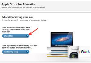 วิธีการขั้นตอนง่ายๆ สำหรับซื้อ MacBook Air, MacBook Pro, iMac จาก Apple ราคานักศึกษา