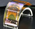 Sharp โชว์จอ OLED ไฮเทคความละเอียดสูง แสนบาง และงอตัวได้