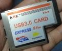 มาลองเล่น Express Card แปลงเป็น USB 3.0