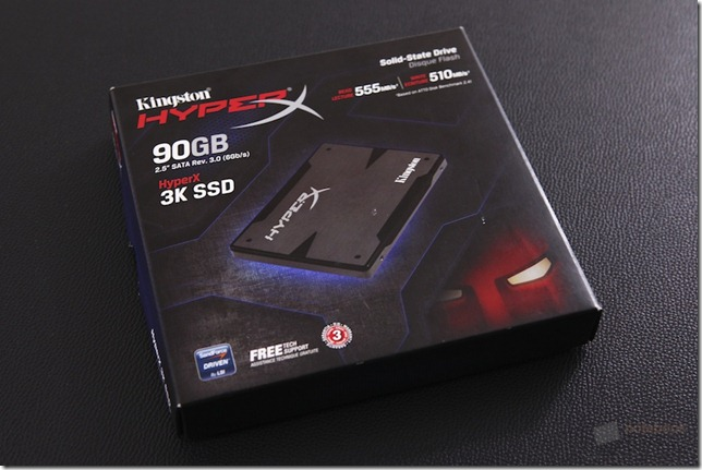 Kingston Hyper X SSD 90 GB 1