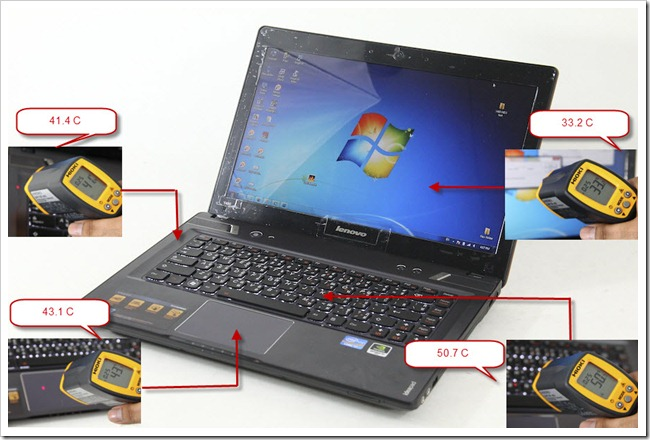 Lenovo IdeaPad Y480 GT 650M 60