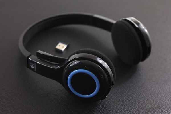 Logitech h600 Wireless Headset Review 4