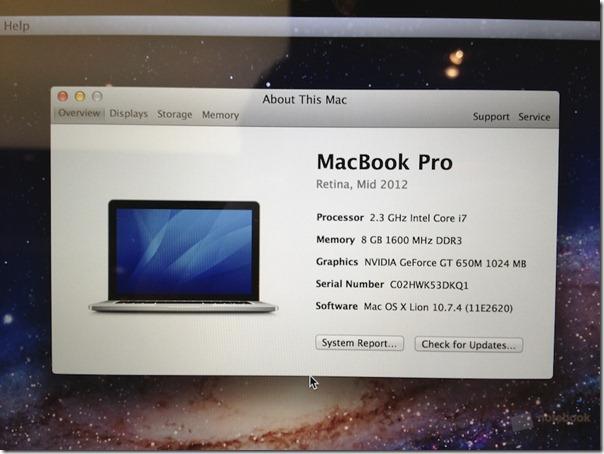 MacBook Pro with Retina Display Hands-On  14