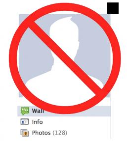 no old facebook profile design