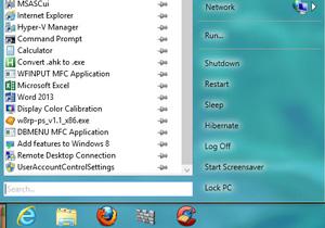 Power8 : Start Menu สำหรับ Windows 8