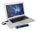 ป้ญหา Apple MacBook Air พื้นที่ความจุไม่พอจะหมดไป เมื่อพบกับ External SSD จาก OWC
