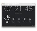 แสดงเวลา และรายละเอียดสภาพอากาศ ในหน้าใหม่ของเว็บบราวเซอร์ Chrome