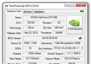 TechPowerUp ปล่อย GPU-Z 0.6.4 เวอร์ชั่นใหม่ ใครสนใจเชิญดาวน์โหลด