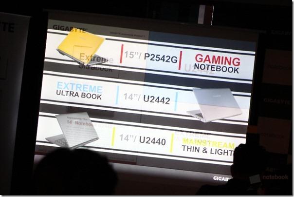 GIGABYTE Opening Ultrabook Gaming 032