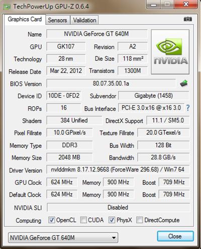 GPU-Z 640