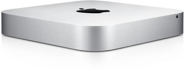 Mac mini front left angled