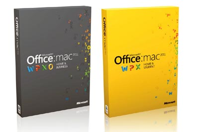 Microsoft Office for Mac 2011 01