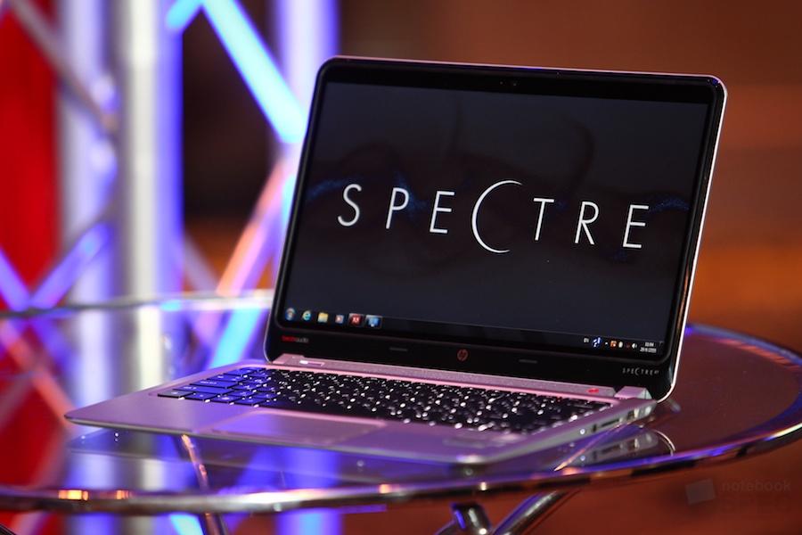 Opening HP Envy Spectre XT 014