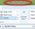 แสดงชื่อพาธแบบเต็มรูปแบบบน Windows Explorer ใน Windows 8
