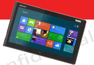 Lenovo ออกแท็บเล็ต Windows 8 ใหม่ในชื่อ ThinkPad Tablet 2