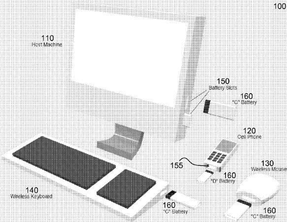 apple universal battery patent