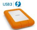 LaCie Rugged ตัวใหม่ อัพเกรดเป็น USB 3.0 และ Thunderbolt
