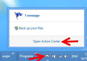 ปิด Automatic updates ใน Windows 8