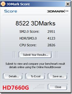 3D MARK 06 7660G