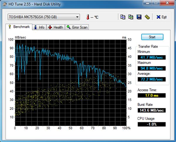 HD Tune 2.55
