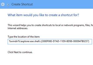 สร้างช็อตคัตสวิทช์หน้าจอใน Windows 8