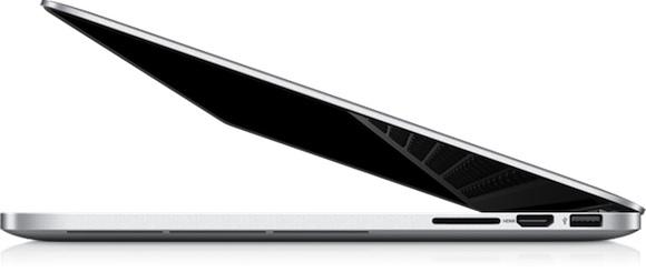 macbook pro 15 retina side