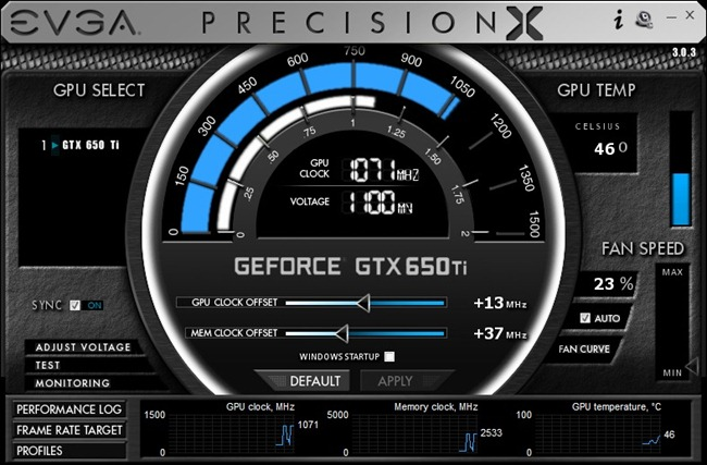 EVGA GeForce GTX 650 Ti-2