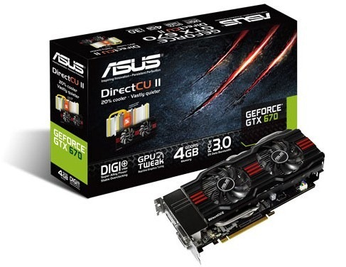 GeForce GTX 670 DirectCU II