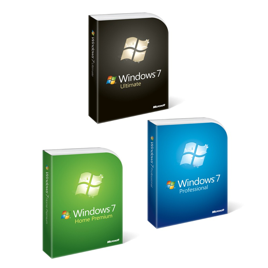 New Windows 7 Logo and Box Design 2