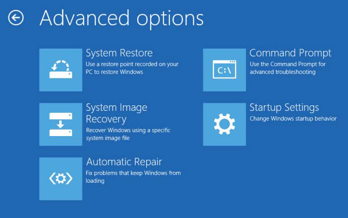 Startup Options Menu 05