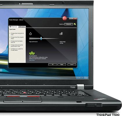 ThinkPad T530 laptop round the clock