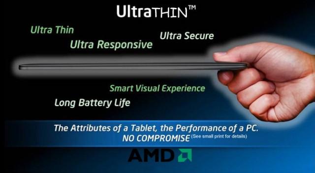 amd ultrathin mock slide