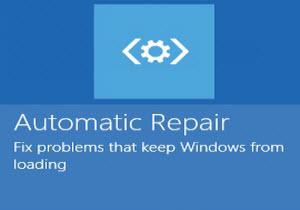 เรียนรู้การซ่อมระบบ Windows 8 ด้วย Automatic Repair