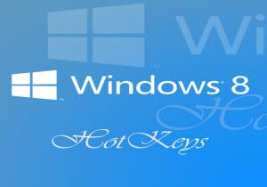 ใช้ Windows 8 แบบมือโปรด้วยคีย์ลัด